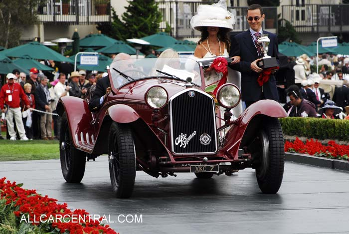 Alfa Romeo 8C 2300 Touring Spider 1933 2nd Mille Miglia Trophy