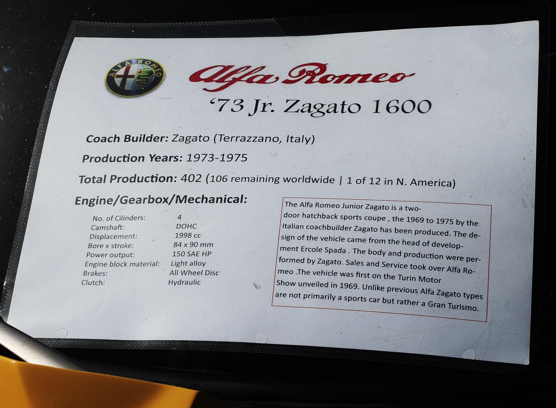 Zagato photographs and zagato technical data all car for Desert motor palm desert ca