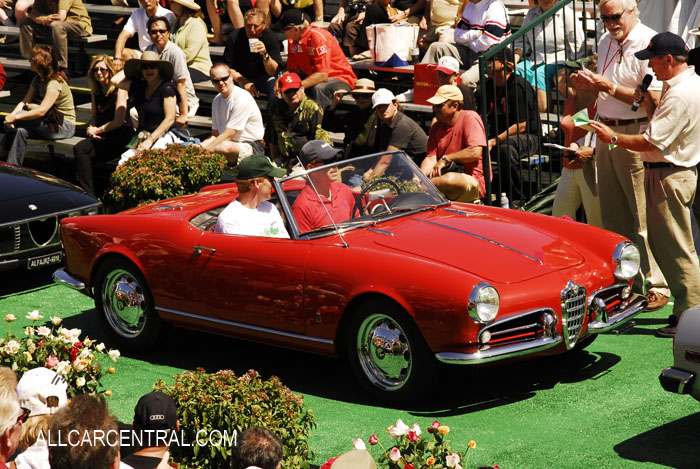 Alfa Romeo Giulietta Spider Veloce. Alfa Romeo Spider Veloce 1959