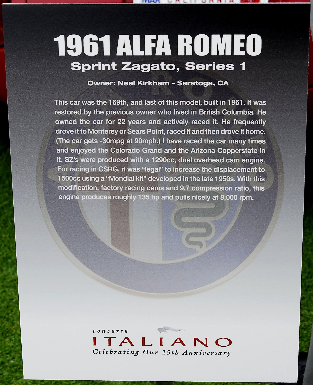 1960-1962 Alfa Romeo Photographs, Technical, Gallery 1