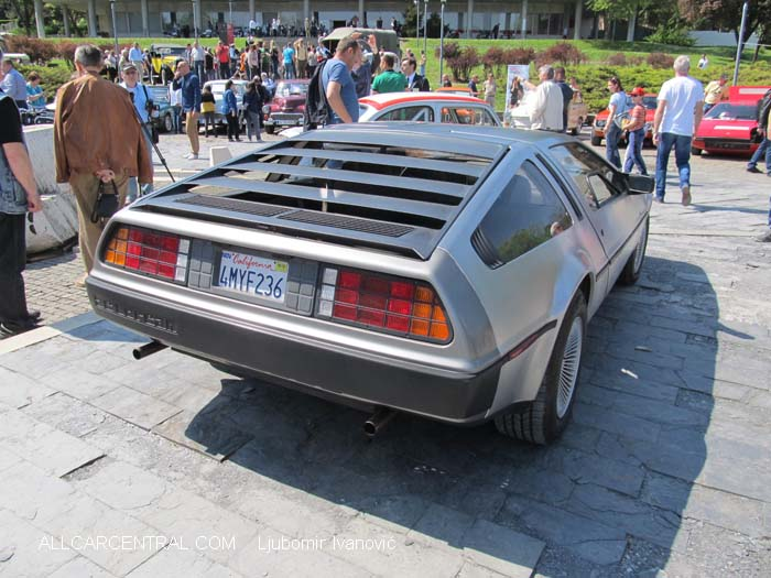DeLorean DMC-12 1982   9th Annual Meeting of the Association of Historians of Motorsports