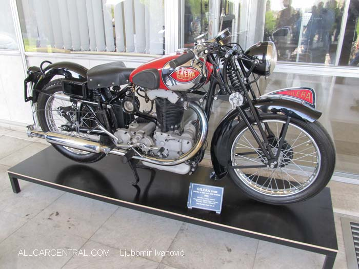 Gilera Vtgse 1934  9th Annual Meeting of the Association of Historians of Motorsports