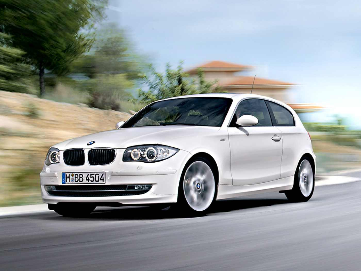 BMW 1 series 3 door 2009
