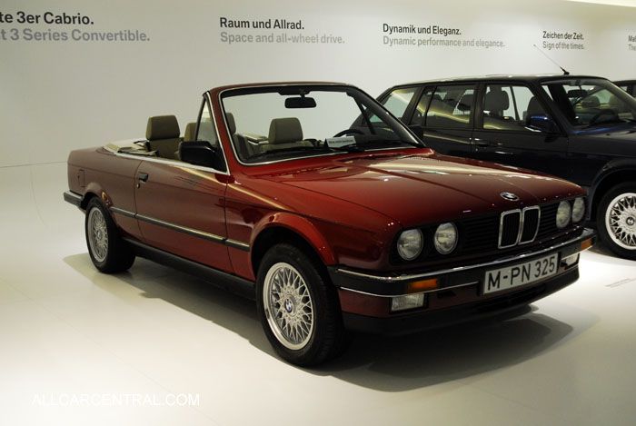 bmw cars 1980 2000 at museum photographs technical all car central magazine. Black Bedroom Furniture Sets. Home Design Ideas