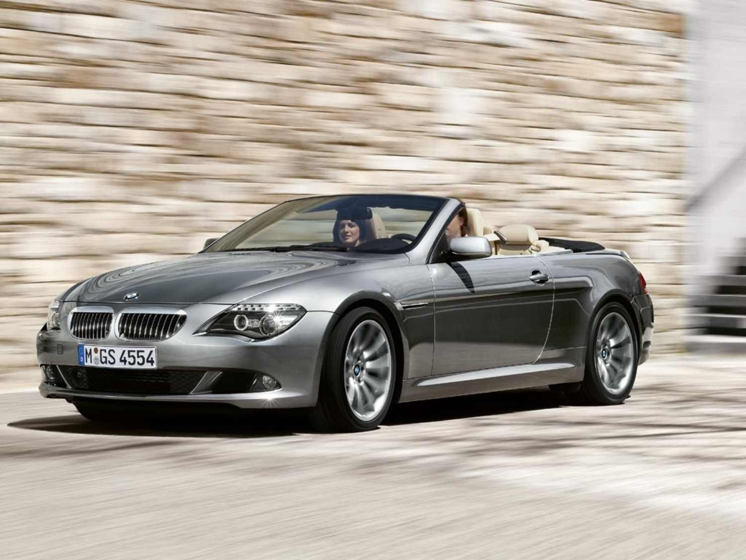BMW 6 series coupe convertible 2009
