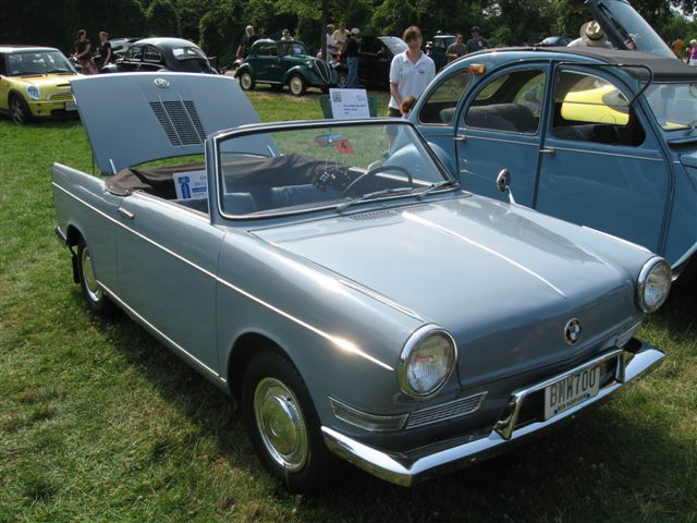 BMW 700 Convertible 1962