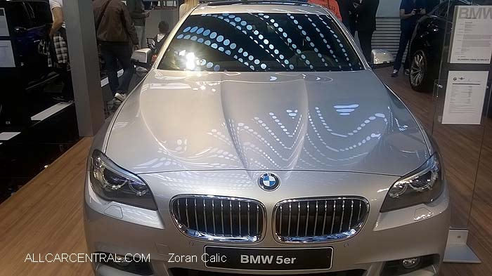 BMW 5 Series  Belgrade International Motor Show 2015
