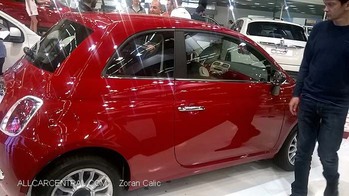 Fiat 500 2015 Belgrade International Motor Show 2015