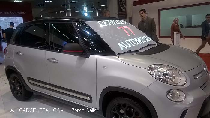 Fiat 500 Trekking 2015   Belgrade International Motor Show 2015