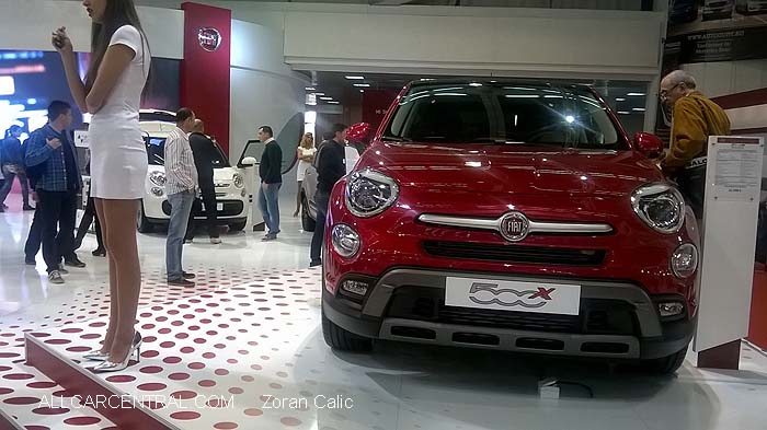 Fiat 500 X 2015 Belgrade International Motor Show 2015