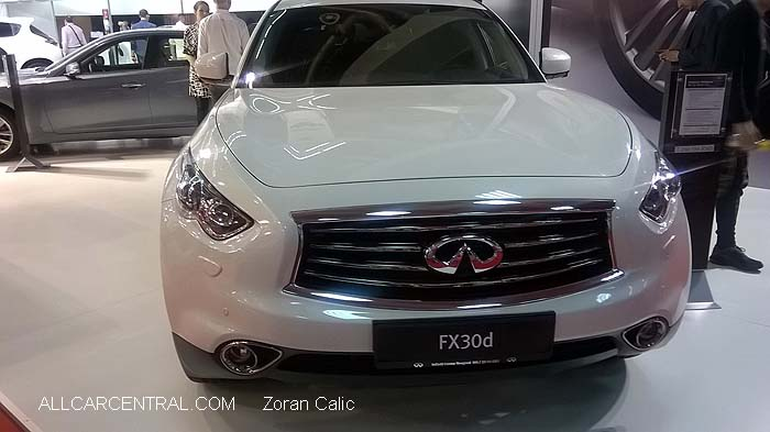 Infiniti FX30d 2015 Belgrade International Motor Show 2015