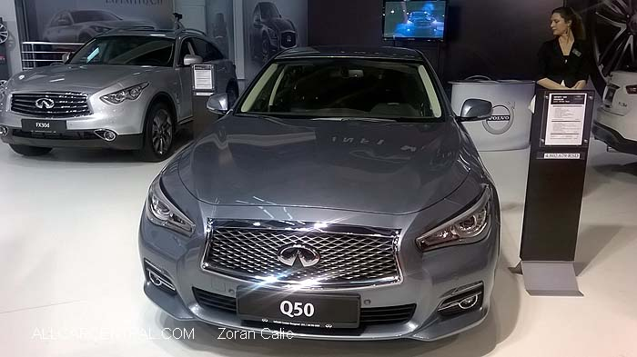 Infiniti Q50 2015  Belgrade International Motor Show 2015