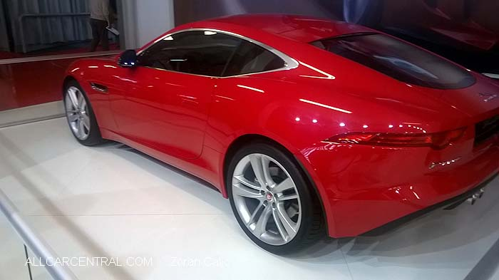 Jaguar F Type 2015  Belgrade International Motor Show 2015