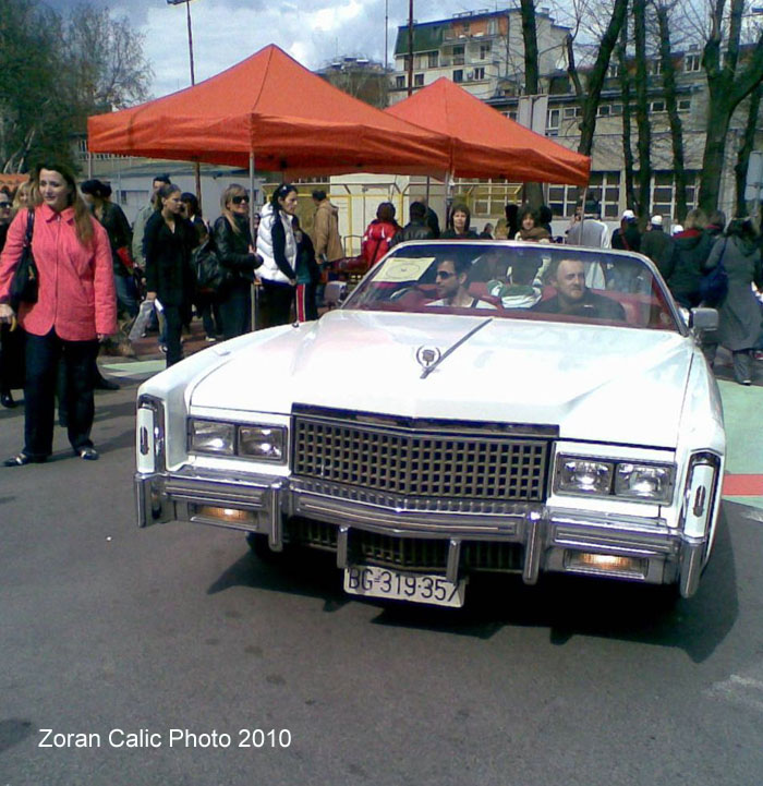 CVETI Family Patron's Day car show for Old Town County in Belgrade, Serbia 2010