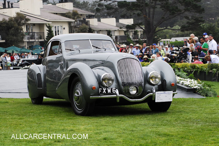 Bentley 4 1/4 Litre Embericos Pourtout Coupe 1938 ...