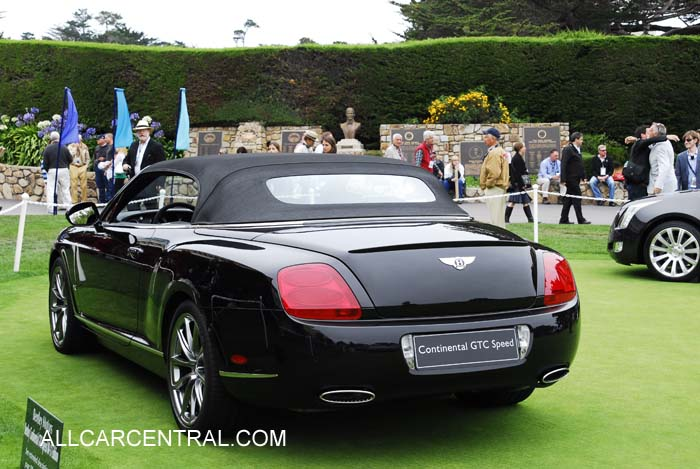 Bentley Continental GTC Speed 80-11 Edition 2011