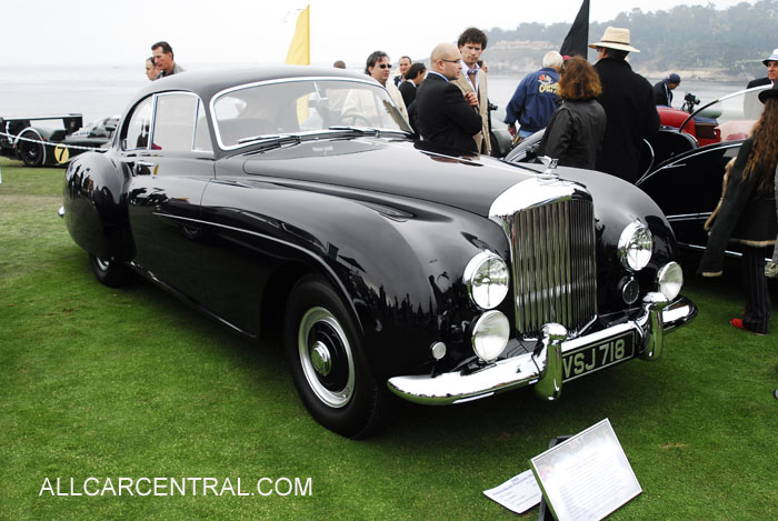 Bentley R-Type Continental HJ Milliner Sports Saloon 1954