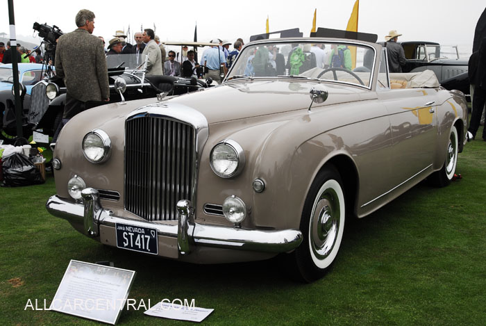 Bentley S1 Continental Park Ward Drophead Coupe 1958