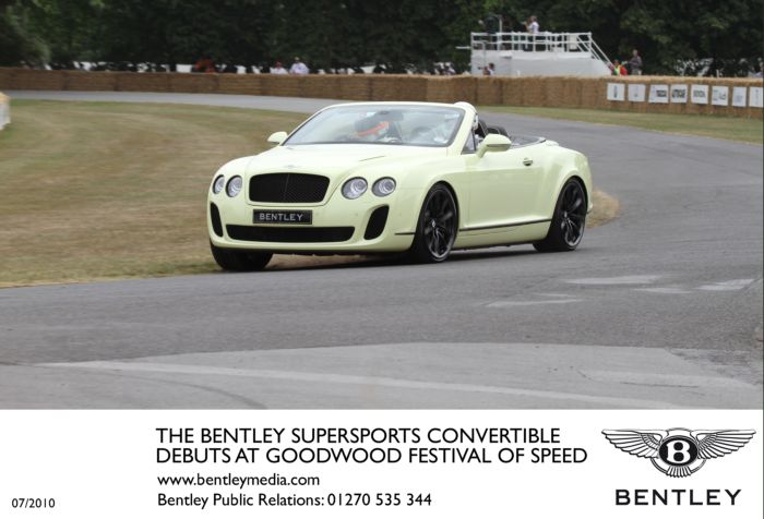 Bentley Convertible 2011