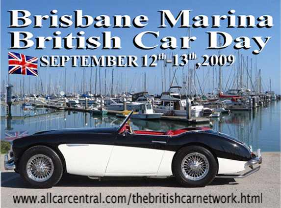 The Brisbane Marina  British Car Day September 12th and 13th, 2009
