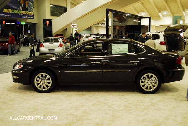 Buick Lacrosse CXL 2009. San Francisco International Auto Show