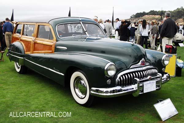 Buick Roadmaster Hercules Estate Wagon 1948