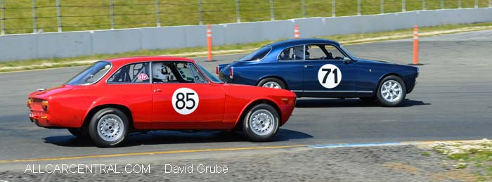 Alfa Romeo GTA 1967  CSRG David Love Memorial Vintage Car Road Races 2015