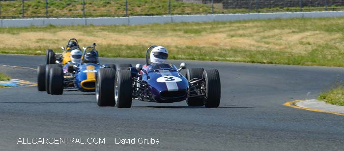 Brabham BT21 1967  CSRG David Love Memorial Vintage Car Road Races 2015
