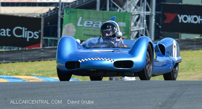 Elva Mk6 1961  CSRG David Love Memorial Vintage Car Road Races 2015