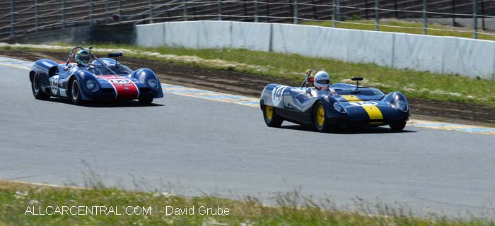 Elva Mk8 SR 1966  CSRG David Love Memorial Vintage Car Road Races 2015