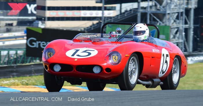 Ferrari 250 TR61 1961 reproduction  CSRG David Love Memorial Vintage Car Road Races 2015