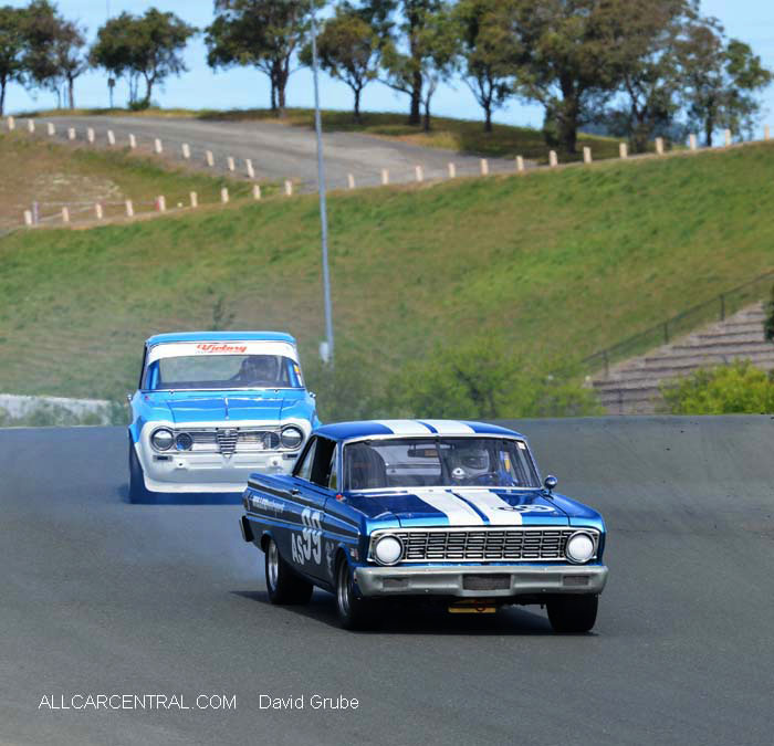 Ford Falcon Sprint 1961  CSRG David Love Memorial Vintage Car Road Races 2015