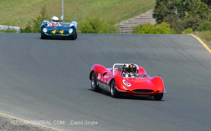 Genie MkV 1962  CSRG David Love Memorial Vintage Car Road Races 2015