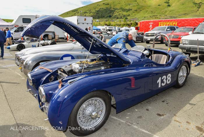 Jaguar XK 120 1951  CSRG David Love Memorial Vintage Car Road Races 2015