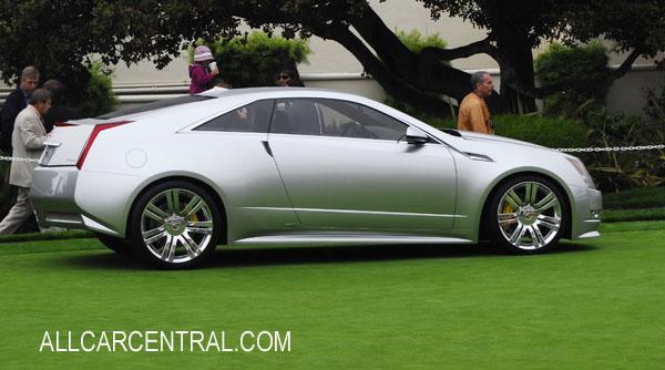 Cadillac photographs technical all car central magazine cadillac converj 2009 cadillac cts coupe concept 2009 publicscrutiny Image collections