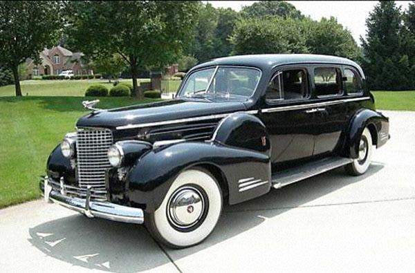 Cadillac V16 Limosine 1940 Rick Feibusch 2008