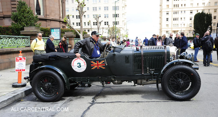 Bentley 4.5 Supercharged 1927 California Mille 2014