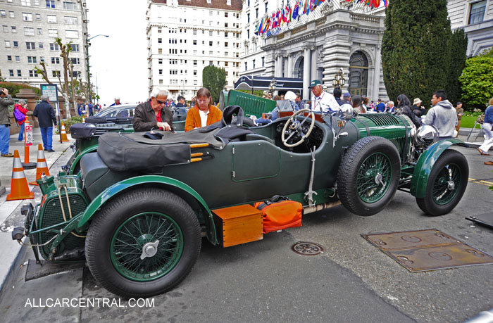 Bentley 6.5 LeMans 1927 California Mille 2014