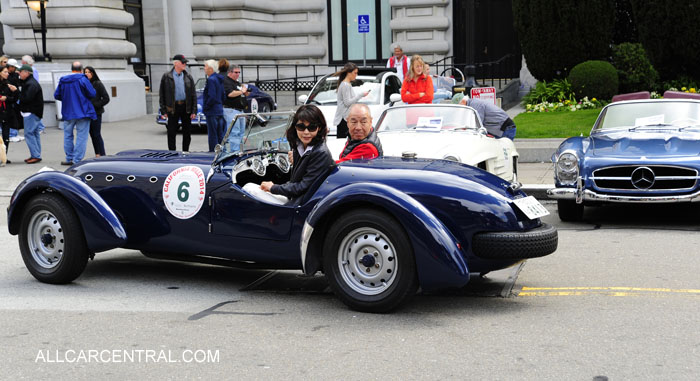 Healey Silverstone 1949 California Mille 2014