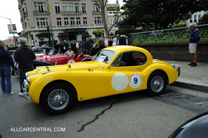 Jaguar XK120fhc 1952 California Mille 2014