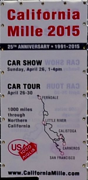 map   California Mille 2015