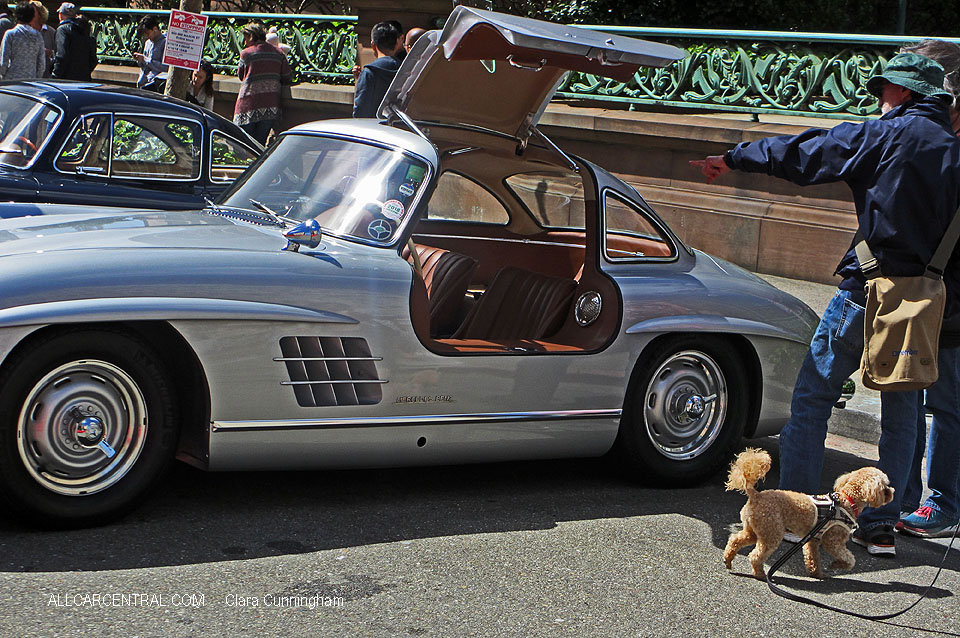Mercedes-Benz 300SL Gullwing Coupe 1955 California Mille 2018 C Cunningham