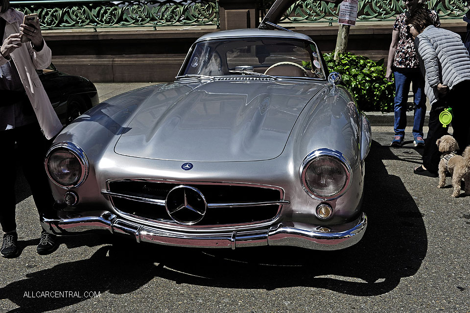 Mercedes-Benz 300SL Gullwing Coupe 1955 California Mille 2018