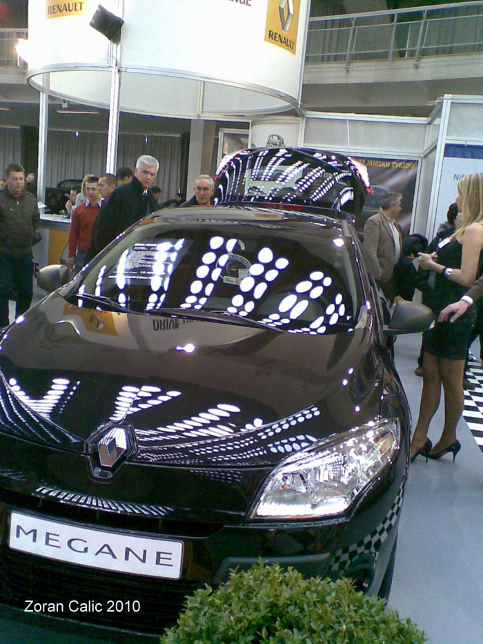 Renault Megane 2010 International Car Show Belgrade