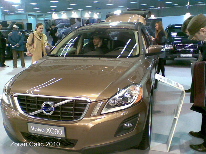 Volvo XC60 2010 International Car Show Belgrade