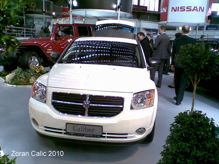 Dodge Caliber 2010 International Car Show Belgrade