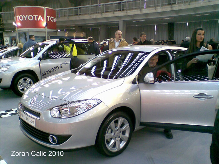 Renault Fluence 2010 International Car Show Belgrade