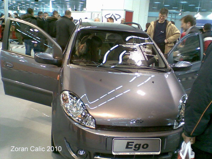 Chery/Kvis Ego 2010 International Car Show Belgrade