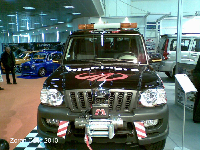 Mahindra Scorpio 2010 International Car Show Belgrade