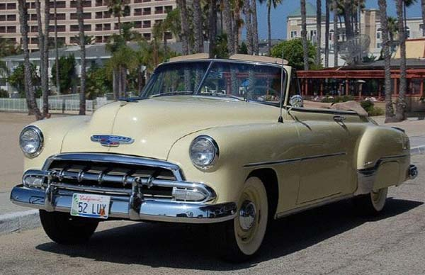 1952 Chevy Deluxe Convertible for Sale